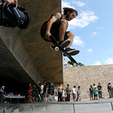 Andrés Moral, Pop Shove It Tailgrab - Foto: Albert Crespi