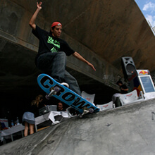 Andrés Chumbi, FS Tailslide - Foto: Albert Crespi