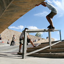 Guillermo J. Puya, FS Smith Grind - Foto: Albert Crespi