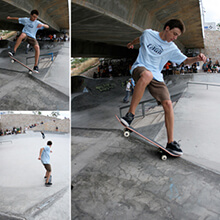 Guillermo J. Puya, FS Noseblunt sequence - Photo: Albert Crespi