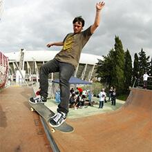 Martín Battello, FS Smith Grind - Photo: Estefano Munar