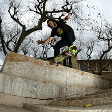 Andrés Moral, FS Tailslide - Foto: Estefano Munar