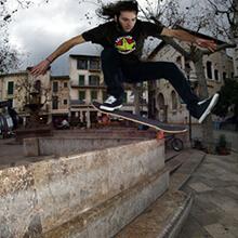 Andrés Moral, One Foot Ollie - Foto: Estefano Munar