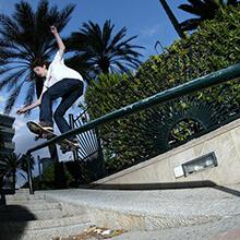 Ian Waelder, FS Boardslide - Foto: Estefano Munar