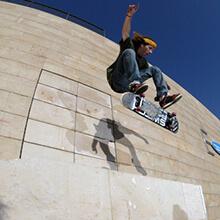 Ian Waelder, Heelflip - Foto: Estefano Munar