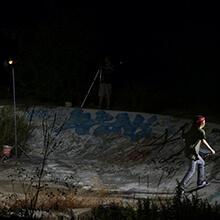 Ian Waelder en Es Foguero - Foto: Estefano Munar
