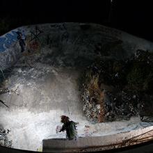 Es Foguero, piscina sucia - Foto: Estefano Munar