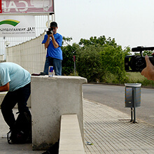 Triple filming - Photo: Estefano Munar