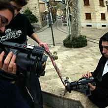 Revisando grabaciones - Foto: Estefano Munar