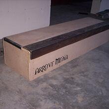 Box newly built - Photo: Alejandro Arroyo