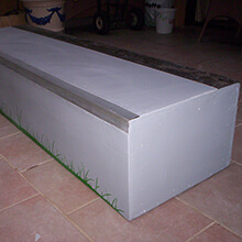 Refurbished box - Photo: Alejandro Arroyo