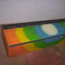 Multicolored box - Photo: Alejandro Arroyo