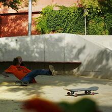 Ian Waelder se cae - Foto: Estefano Munar