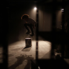 Ian Waelder, Ollie, intro Lights Out - Foto: Estefano Munar