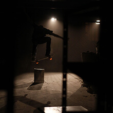 Lolo Cosmelli, Nollie, intro Lights Out - Foto: Estefano Munar