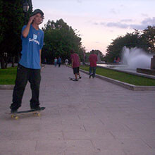 Carlos Albendea en Sa Feixina - Foto: Unknown