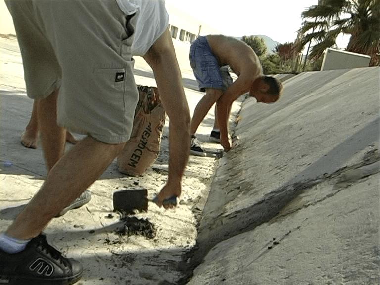 DIY: Fix a bank entrance, skate video
