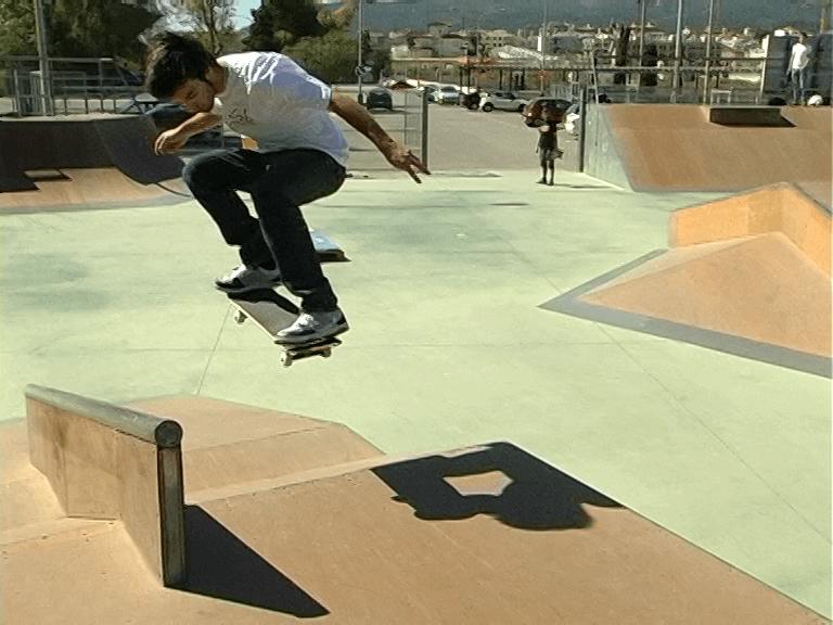 Tutorial Ollie, por Miki Jaume, skate video